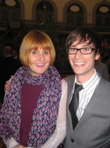 Discussing business with Mary Portas