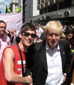 Lobbying Boris Johnson, Mayor of London