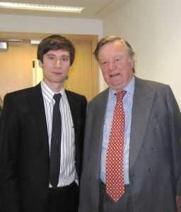 Interviewing the Lord Chancellor, Ken Clarke