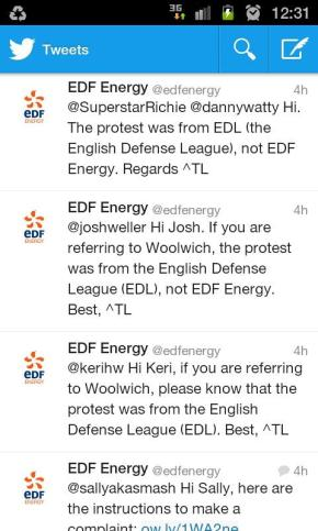 Social media and brand protection: EDF carefully handles misdirected hatred