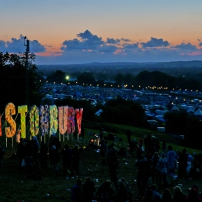 A lawyer and a drug dealer are in a bar at the Glastonbury festival…