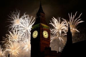 APTOPIX Britain New Year's Celebrations