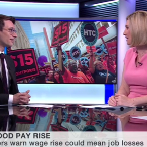 BBC World Business Report: New York's fast-food workers set for unprecedented pay-rise