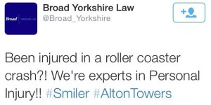 yorkshire law tweet