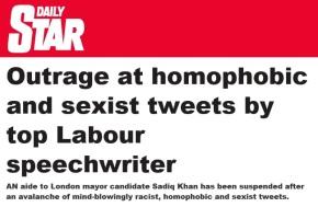 Sadiq Khan's aide quits following social mediashame